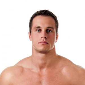 Laser hair removal face for men