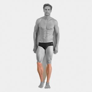 Lower Legs inc Knees Laser Hair Removal For Men